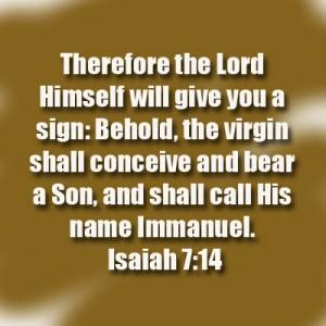 Isaiah 714