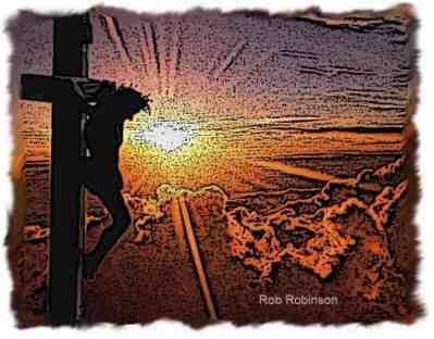 Jesus Cross Sunset