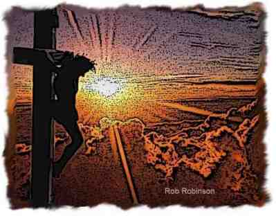 Jesus Cross Sunset