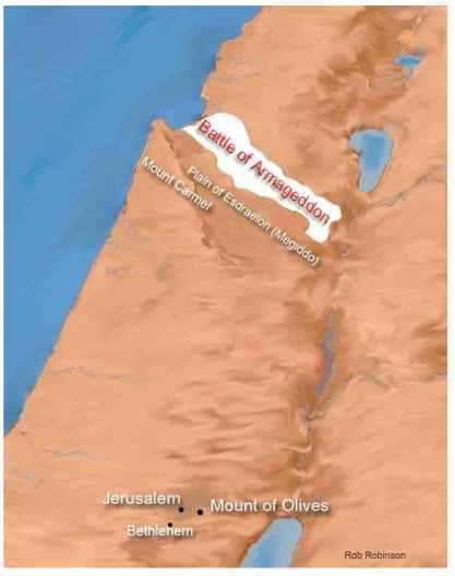 Map Battle of Armageddon