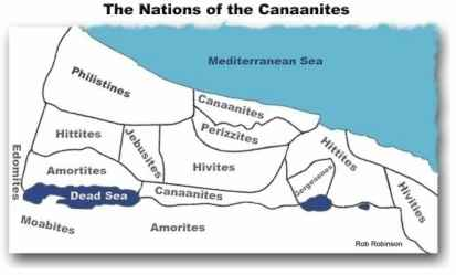 The Nations of the Canaanites