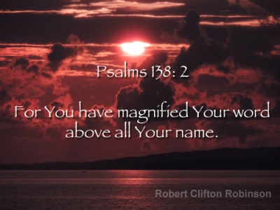 Your word above your name