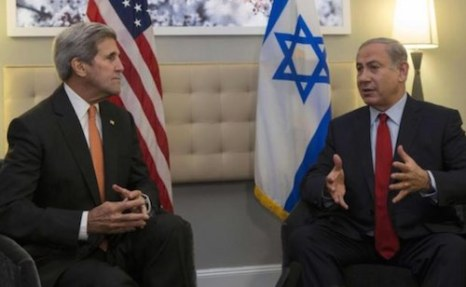 Kerry and Netanyahu Reuters