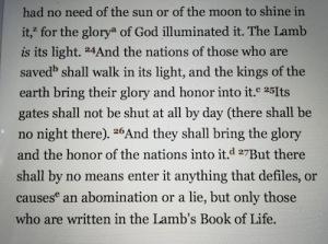 Lambs Book of Life