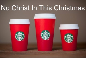 Starbucks No Christ