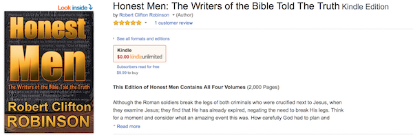 Honest Men Amazon