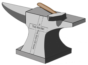 the gospel of jesus christ is an anvil that has worn out the hammer